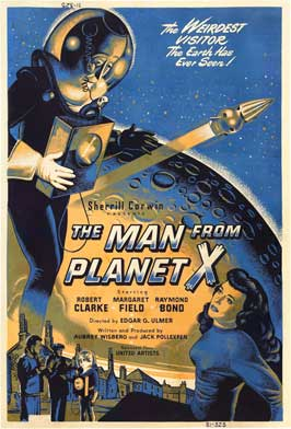 The Man from Planet X - 27 x 40 Movie Poster - Style B