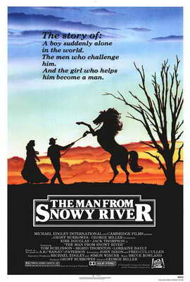 Man from Snowy River, The - 27 x 40 Movie Poster - Style A