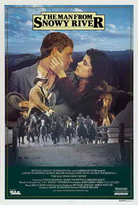 Man from Snowy River, The - 27 x 40 Movie Poster - Australian Style A