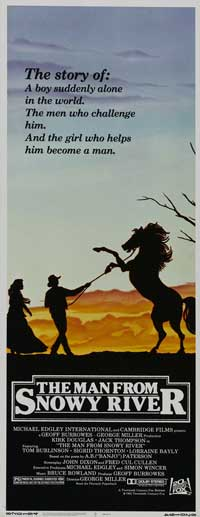 Man from Snowy River, The - 14 x 36 Movie Poster - Insert Style A
