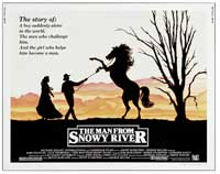Man from Snowy River, The - 22 x 28 Movie Poster - Half Sheet Style A