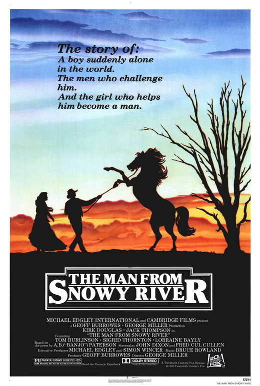 Man from Snowy River, The Movie Posters From Movie Poster Shop