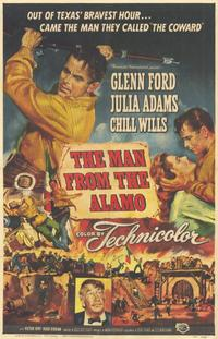 The Man from the Alamo - 11 x 17 Movie Poster - Style A