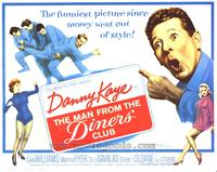 The Man From the Diners Club - 22 x 28 Movie Poster - Half Sheet Style A