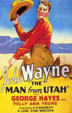 The Man from Utah - 11 x 17 Movie Poster - Style B