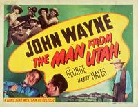 The Man from Utah - 11 x 14 Movie Poster - Style A
