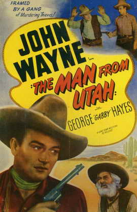 The Man from Utah - 11 x 17 Movie Poster - Style A