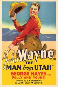 The Man from Utah - 27 x 40 Movie Poster - Style A