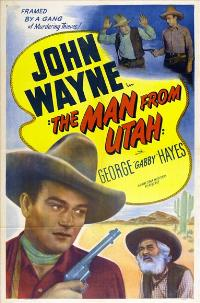 The Man from Utah - 27 x 40 Movie Poster - Style B