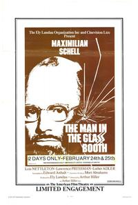 The Man in the Glass Booth - 27 x 40 Movie Poster - Style A