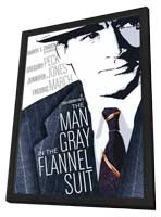 The Man in the Gray Flannel Suit - 11 x 17 Movie Poster - Style B - in Deluxe Wood Frame