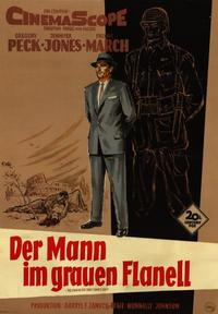The Man in the Gray Flannel Suit - 11 x 17 Poster - Foreign - Style A