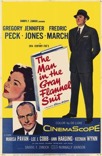The Man in the Gray Flannel Suit - 11 x 17 Movie Poster - Style A