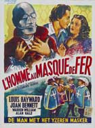 The Man in the Iron Mask - 11 x 17 Movie Poster - Belgian Style A