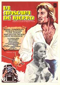 The Man in the Iron Mask - 11 x 17 Movie Poster - Spanish Style A