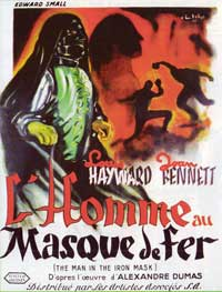 The Man in the Iron Mask - 11 x 17 Movie Poster - French Style A