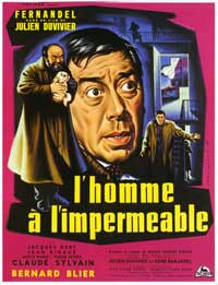 Man in the Raincoat, The - 11 x 17 Movie Poster - French Style A