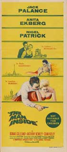 The Man Inside - 14 x 36 Movie Poster - Australian Style A