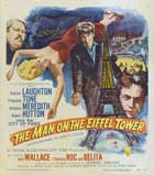 The Man on the Eiffel Tower - 11 x 17 Movie Poster - Style B