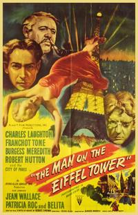 The Man on the Eiffel Tower - 11 x 17 Movie Poster - Style A
