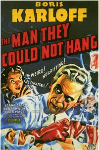 The Man They Could Not Hang - 43 x 62 Movie Poster - Bus Shelter Style A