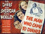 The Man Who Came to Dinner - 30 x 40 Movie Poster - Style A