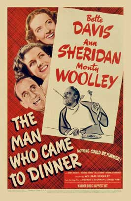 The Man Who Came to Dinner - 11 x 17 Movie Poster - Style A