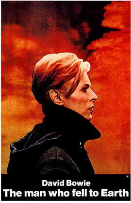 The Man Who Fell to Earth - 11 x 17 Movie Poster - Style A