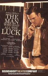 The Man Who Had All The Luck (Broadway) - 11 x 17 Poster - Style A
