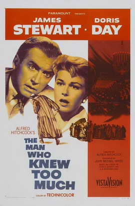 The Man Who Knew Too Much - 11 x 17 Movie Poster - Style A