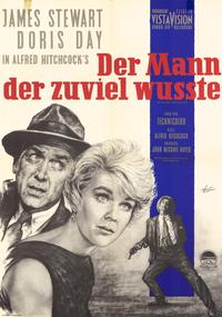 The Man Who Knew Too Much - 11 x 17 Movie Poster - German Style A