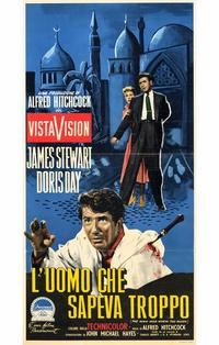 The Man Who Knew Too Much - 11 x 17 Movie Poster - Italian Style A
