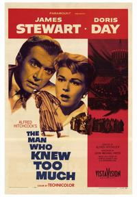 The Man Who Knew Too Much - 43 x 62 Movie Poster - Bus Shelter Style A