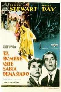 The Man Who Knew Too Much - 11 x 17 Movie Poster - Spanish Style A