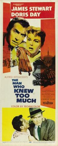 The Man Who Knew Too Much - 14 x 36 Movie Poster - Insert Style A