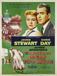 The Man Who Knew Too Much - 27 x 40 Movie Poster - Style B