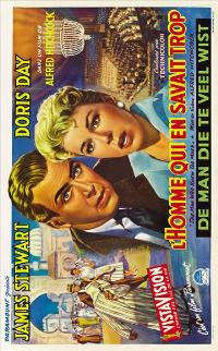 The Man Who Knew Too Much - 11 x 17 Movie Poster - Belgian Style A