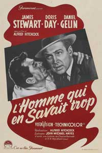 The Man Who Knew Too Much - 11 x 17 Movie Poster - French Style A