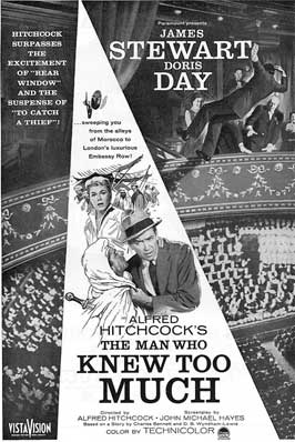 The Man Who Knew Too Much - 11 x 17 Movie Poster - Style E