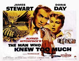 The Man Who Knew Too Much - 22 x 28 Movie Poster - Half Sheet Style A