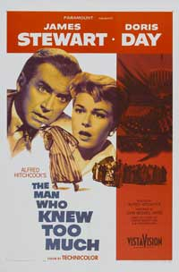 The Man Who Knew Too Much - 11 x 17 Movie Poster - Style A - Museum Wrapped Canvas