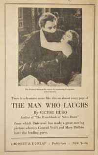 The Man Who Laughs - 11 x 17 Movie Poster - Style C