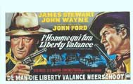 Man Who Shot Liberty Valance, The - 11 x 17 Movie Poster - Belgian Style A
