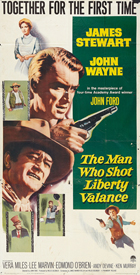 Man Who Shot Liberty Valance, The - 11 x 17 Movie Poster - Style E