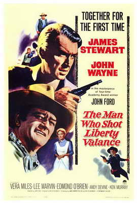 Man Who Shot Liberty Valance, The - 27 x 40 Movie Poster - Style A