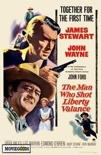 Man Who Shot Liberty Valance, The - 43 x 62 Movie Poster - Bus Shelter Style A