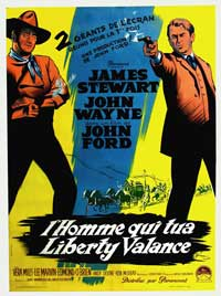 Man Who Shot Liberty Valance, The - 11 x 17 Movie Poster - French Style A