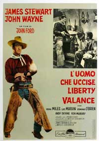 Man Who Shot Liberty Valance, The - 11 x 17 Movie Poster - Italian Style A