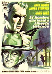 Man Who Shot Liberty Valance, The - 11 x 17 Movie Poster - Spanish Style B