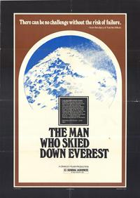 The Man Who Skied Down Everest - 27 x 40 Movie Poster - Style A